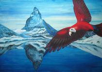 Ara am Matterhorn by Kathrin Es-Saidy