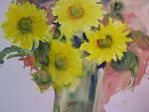 Sonnenblumen by Traudi Bräuninger