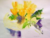 Tulpenstrauss  by Traudi Bräuninger