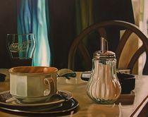 Cappuccino da Valenti  80x100 cm by renzo valenti