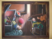 Auf dem Dachboden by Elke Baschkar