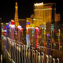 Growth - Impression of Las Vegas at Night von Eye in Hand Gallery