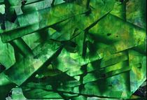 Grüner Kristall von Georg Laurisch