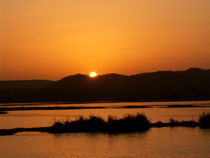 Sunset in Luxor by Saskia Berndt