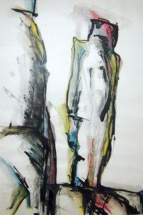 Säulen 1 von Renate Schmidt