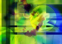 Green like freshness  by Martina Ute Rudolf