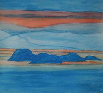 Inseln im Fjord von Birgit Oehmig