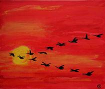 Vogelzug von Birgit Oehmig