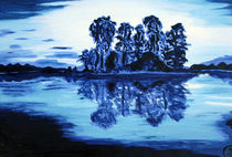 Blau,blau einfach blau von Birgit Oehmig