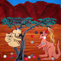 Karneval im Outback by Birgit Oehmig