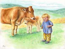 Bauernhofidyll von Yvonne Onischke