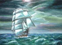 Schiffsgewitter von Yvonne Onischke