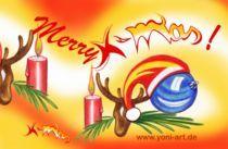 Merry X-mas! von Yvonne Onischke