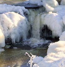 Wasserfall im Eis  von dieter