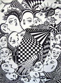 Maskenball by Wolfgang Leng