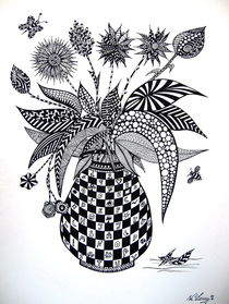 Blumenstilleben von Wolfgang Leng