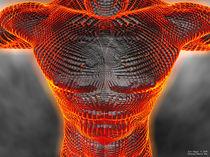 Glowing Muscle Boy von Eric Nagel