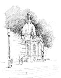 Frauenkirche Dresden von Marc-M.J. Wolff-Rosenkranz