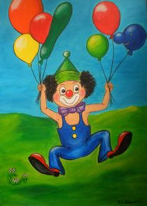 Clown 1 von Ulrike Sallós-Sohns