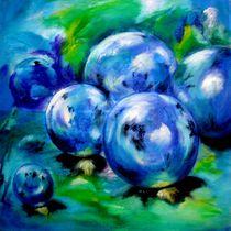 die Magie der Kugeln -blau - von Ulrike Sallós-Sohns