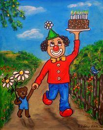 auf zur Geburtstagsparty von Ulrike Sallós-Sohns