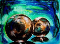 die Magie der Kugeln -braun - von Ulrike Sallós-Sohns