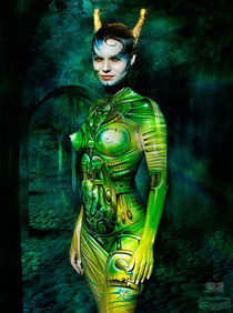 SIGI, bodypainted by obsn von Chris 'obsn' O.