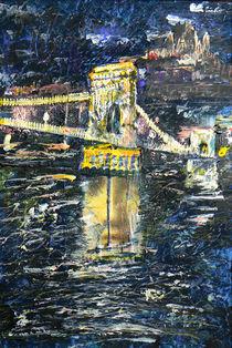 Kettenbrücke Lánchíd von Géza Székely