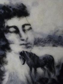 Wollbild Traum von Birgit Albert