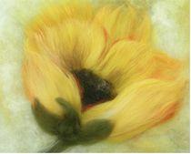 gelbe Blume by Birgit Albert