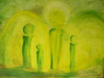 Schutzengel grün von Birgit Albert