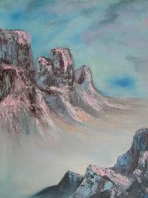 Berglandschaft2 von Birgit Albert
