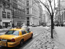 Yellow Cab 1 von Stefan Schulz