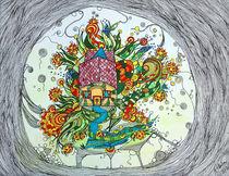 Kleines Haus mit Garten by Nikola Hahn
