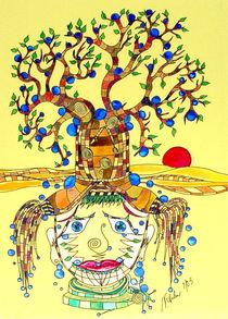 Baumgesicht von Nikola Hahn