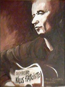 Woody Guthrie von Hardy Lugerth