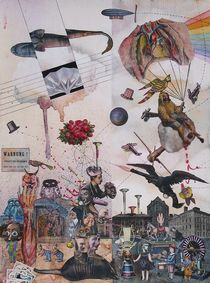 Die Akrobaten von Peter Schneider-Rabel