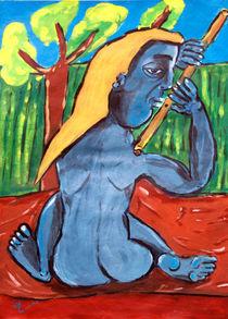Der Flötenspieler von Premdharma S. Gartlgruber
