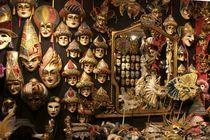 Masken in Venedig von Premdharma S. Gartlgruber