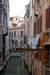 Kanal in Venedig von Premdharma S. Gartlgruber