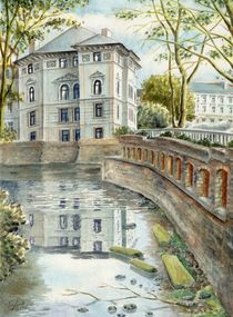 Leipziger Ufer (Shore of a stream in Leipzig) by Ronald Kötteritzsch