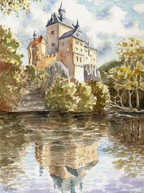 Burg Kriebstein I (Kriebstein Castle I) von Ronald Kötteritzsch