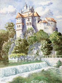 Burg Kriebstein II (Kriebstein Castle II) von Ronald Kötteritzsch