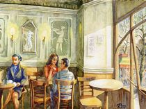 Barcelona: Café de l'Opera by Ronald Kötteritzsch