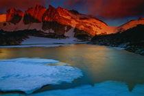 Isolation Lake, Alpine Lakes Wilderness, USA von Gilbert Weidinger