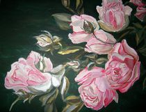 Rosen im Mondlicht by rosenlady