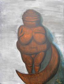 Venus XI - auf der Mondsichel von Judith Henkel