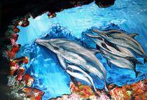 Meereswelten der Delphine by rosenlady