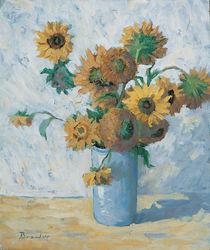 Sonnenblumen von Franz Brandner