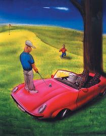 Golf Porsche von Mr. TSCHUWIE